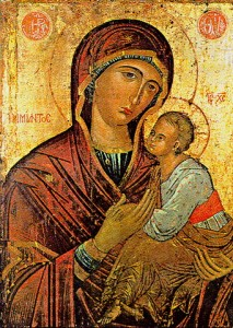 Icone de Saint Marie Mère de Dieu