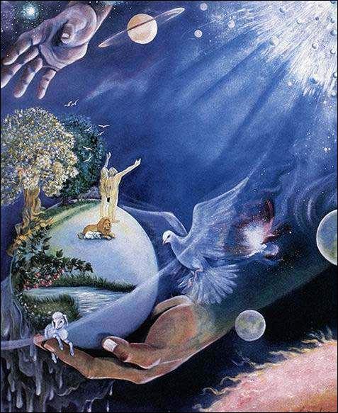 Je suis le créateur de la terre, de la mer, des étoiles et du firmament